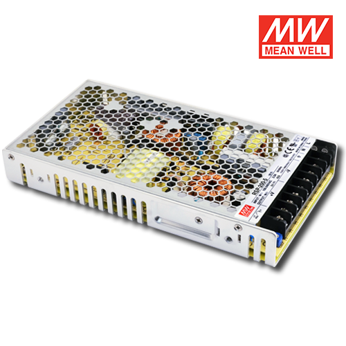 alimentatore led meanwell per interni ip20 200w 5v