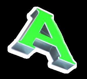 lettere scatolate in alluminio e plexiglas