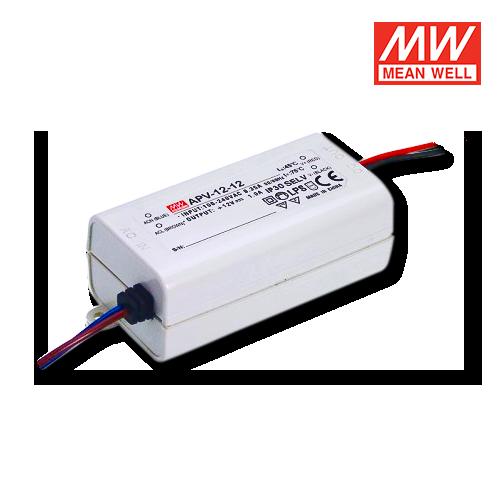 Alimentatori meanwell per led 12v albaled moduli led for Alimentatori per led
