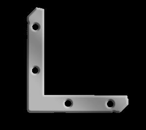 angolari piccoli profili in alluminio a incastro