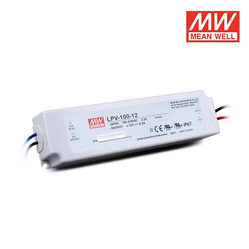 trasformatore per led per esterni ip67 100w 12v