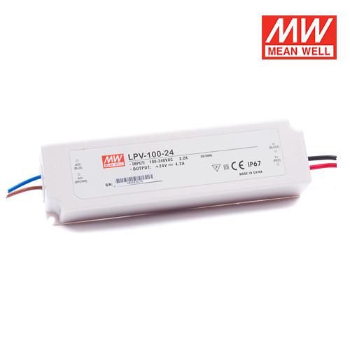 trasformatori per esterni per led meanwell 100w 24v