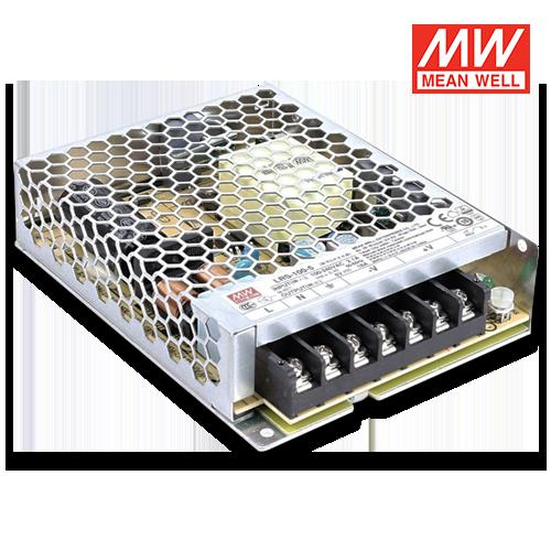 trasformatore led meanwell per interni 100w 5v