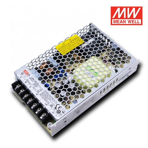 alimentatori per led per uso interno meanwell 150w 24v