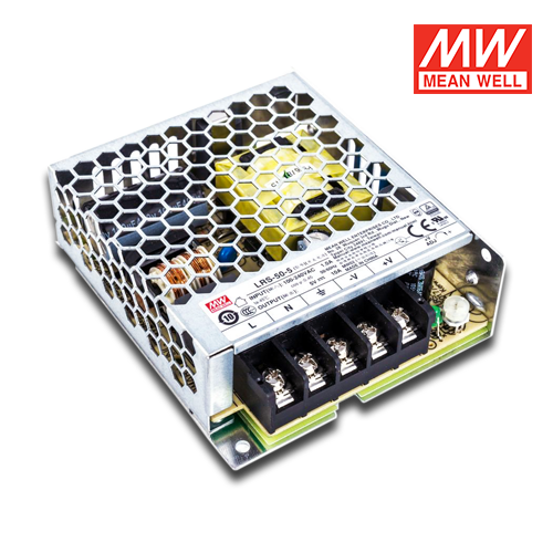 trasformatore led per interni Meanwell 50w 5v