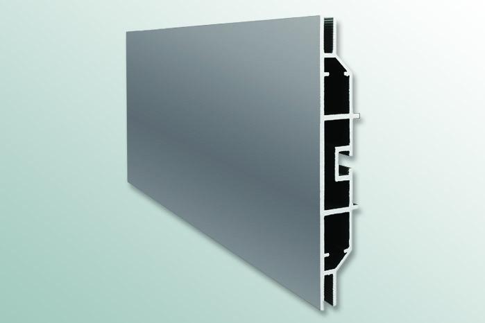 profili in alluminio per teli luminosi bifacciali