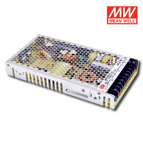 alimentatori meanwell per led uso interno 200w 12v